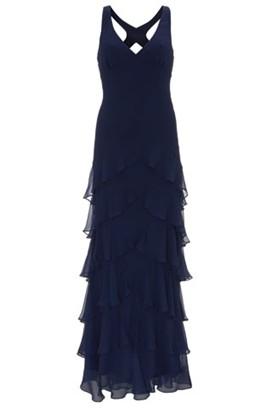 kate-moss-koleksiyonu-lacivert-elbise - Kate Moss Topshop koleksiyonu