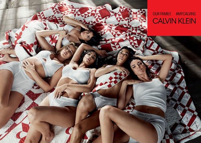 Kim Ve Kardeşleri Calvin Klein Reklamı İçin Bir Araya Geldi
