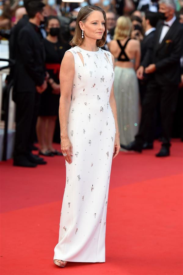 Jodie Foster - Kırmızı Halı: 2021 Cannes Film Festivali