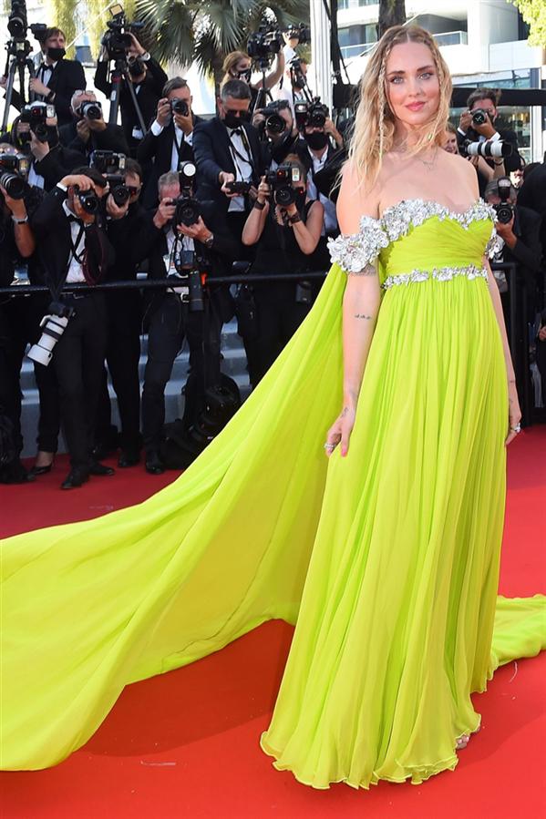 Chiara Ferragni - Kırmızı Halı: 2021 Cannes Film Festivali
