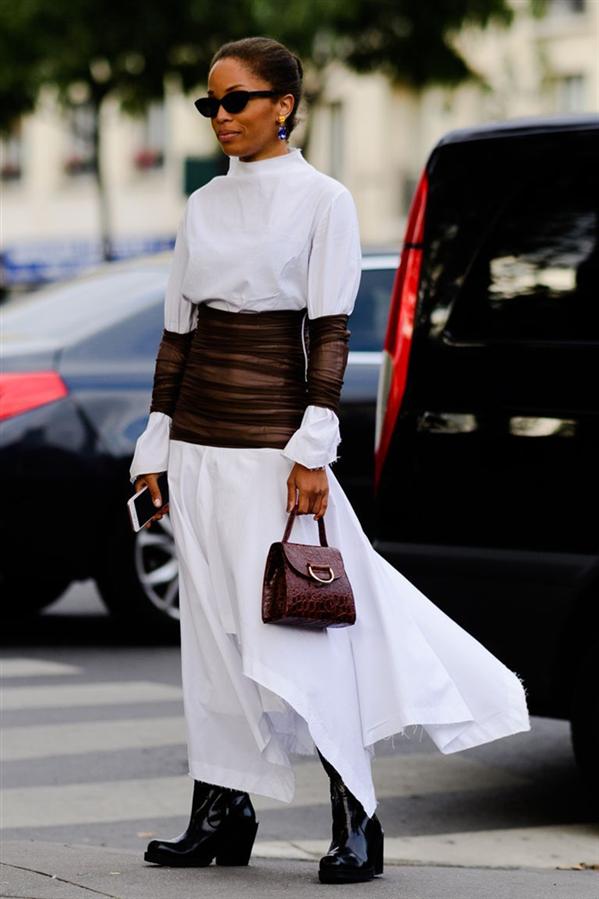 Kış Aylarında Beyaz Giymenin 10 Yolu