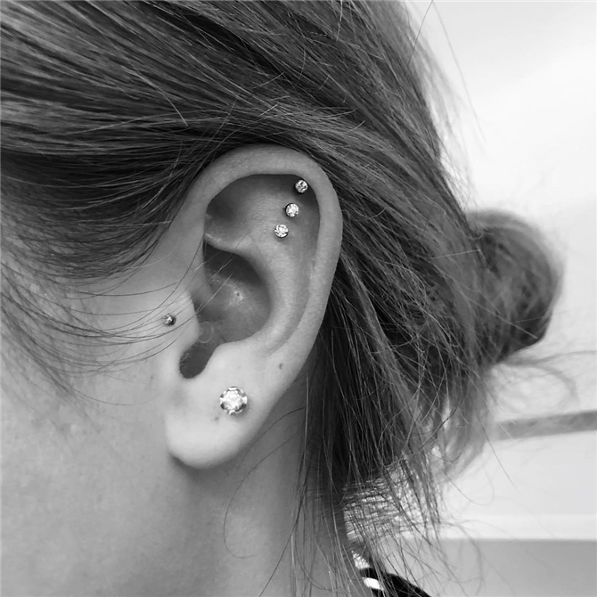 Kulaklarınıza Piercing Takmak İçin Size İlham Verecek Görünümler