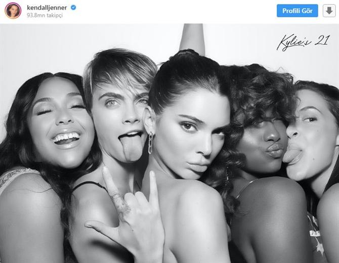 Kylie Jenner'ın 21. Doğum Günü Partisi Kamera Arkası