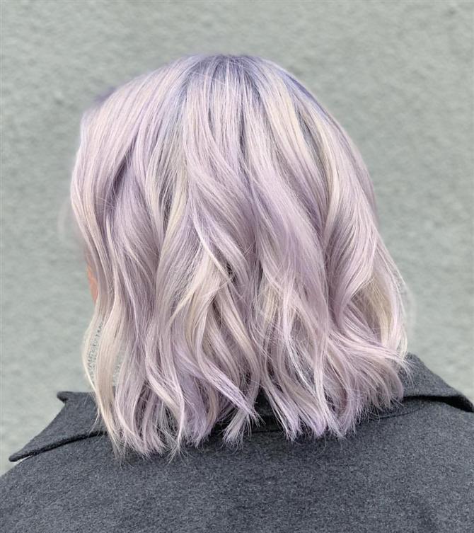 Lila Renk Saçlar İçin İlham Alacağınız 10 Kusursuz Görünüm - Lila Renk Saçlar İçin İlham Alacağınız 10 Kusursuz Görünüm
