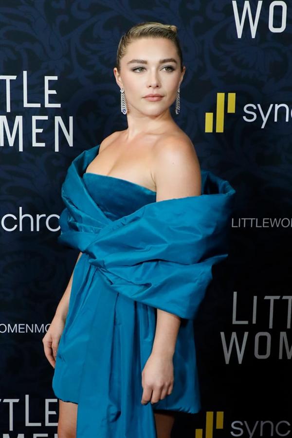 Florence Pugh - Little Women Filminin Dünya Prömiyerinde Yıldızların Şıklık Yarışı