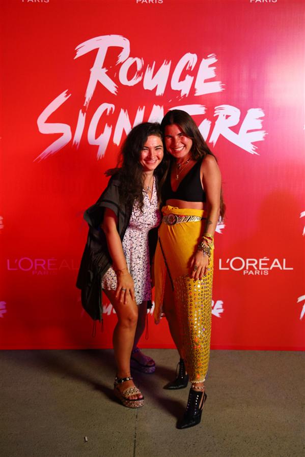 L'Oréal Paris Rouge Signature'den Kuralları Yıkan Parti - L'Oréal Paris Rouge Signature'den Kuralları Yıkan Parti