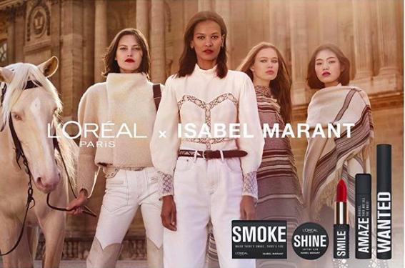 L'Oréal Paris Ve Isabel Marant'ın İlk Makyaj Koleksiyonu