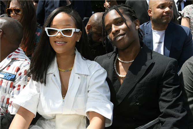 Rihanna ve ASAP Rocky