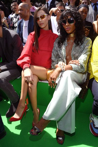 Bella Hadid ve Naomi Campbell
