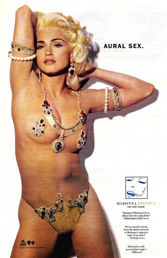 Erotica (1992) Albümü
