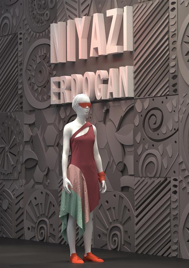 MBFWI: Niyazi Erdoğan'dan Sanal Modeller Eşliğinde Dijital Defile