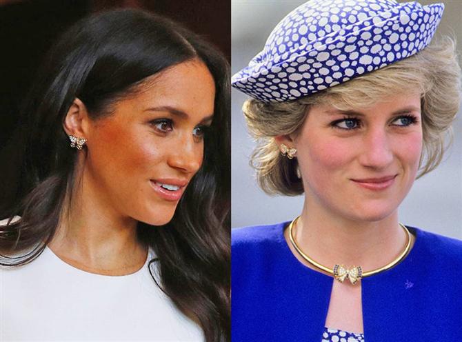 Meghan Markle Prenses Diana'yı Onurlandırdı