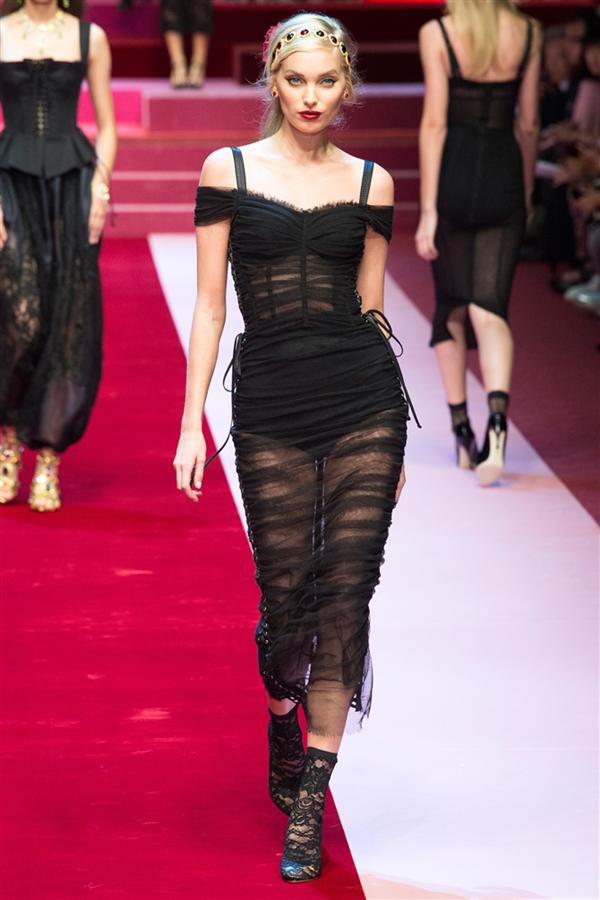 MFW: Dolce & Gabbana İlkbahar 2018
