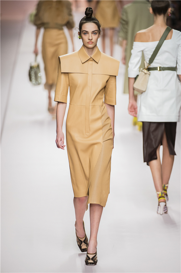 Milano Moda Haftası: Fendi İlkbahar/Yaz 2019