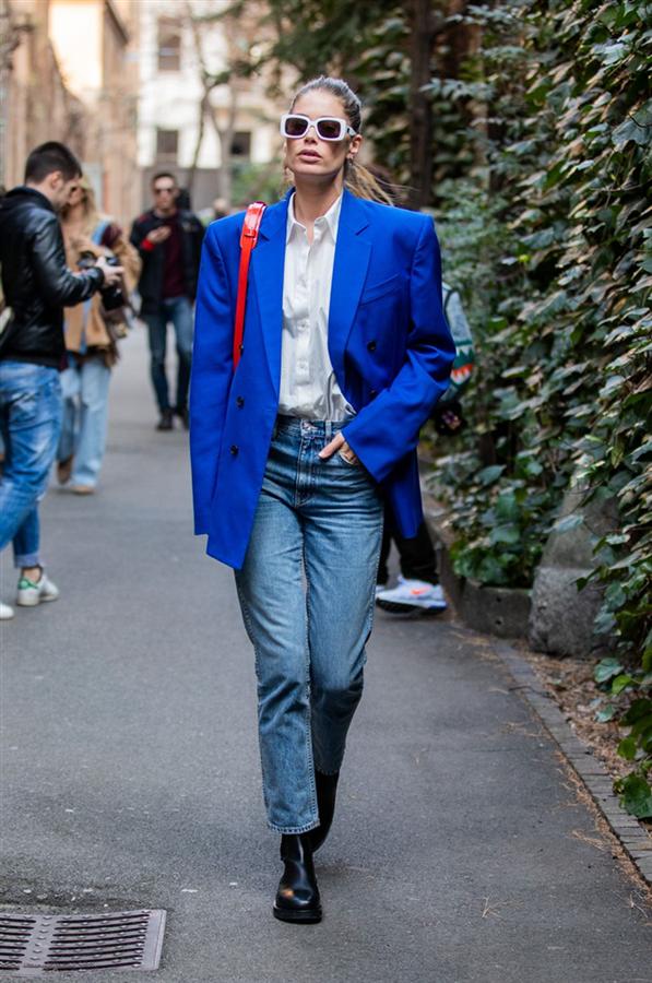 Doutzen Kroes - Milano Moda Haftasının Akıllara Kazınan Ünlü Sokak Stilleri