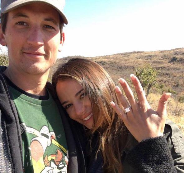 Miles Teller ve Keleigh Sperry Nişanlandı