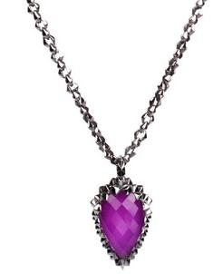 asos-kolye - Mor mücevherler