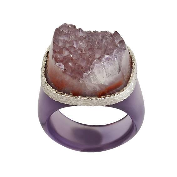 mor-taki-quartz-yuzuk - Mor mücevherler