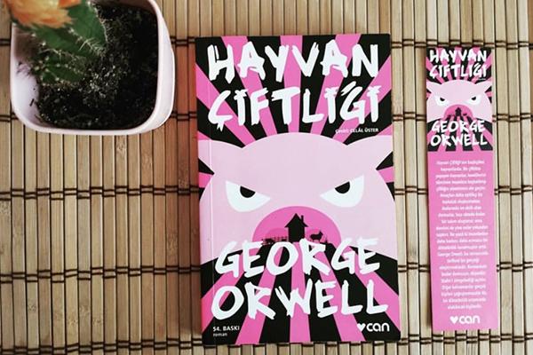 """4- """"Hayvan Çiftliği"""", George Orwell - Mutlaka Okumanız Gereken 10 Kitap"""