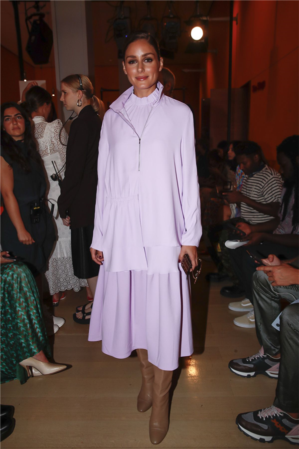 Olivia Palermo - New York Moda Haftası Defilelerine Damga Vuran Ünlü ve Şık Davetliler