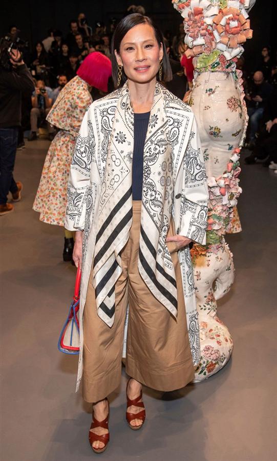 Lucy Liu - New York Moda Haftasının Ünlü Konukları Neler Giydi?