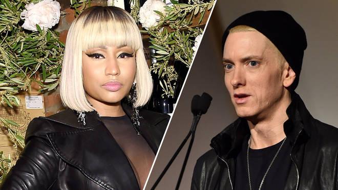 Nicki Minaj ve Eminem İlişkiye Başladı