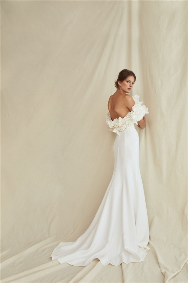 Oscar De La Renta Bridal 2021 Bahar Gelinlikleri - Oscar De La Renta Bridal 2021 Bahar Gelinlikleri