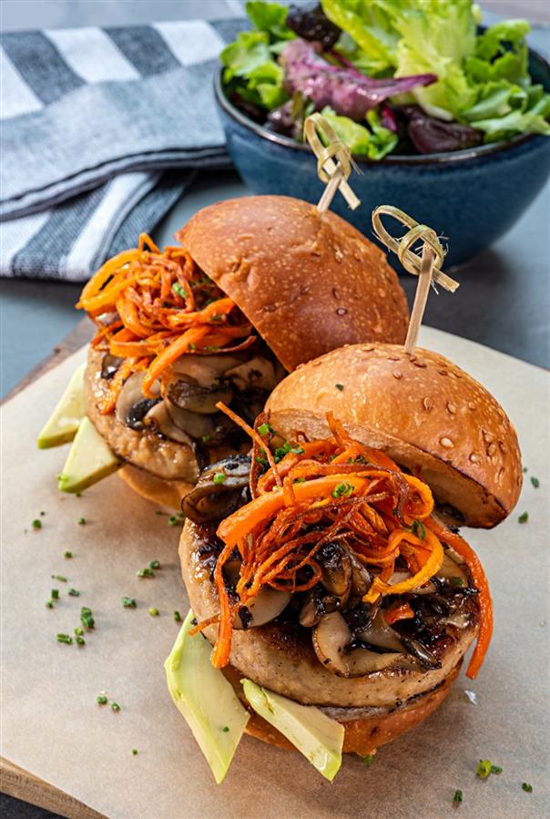 Özgün Sandviçler ve Burgerler Monochrome'da - Özgün Sandviçler ve Burgerler Monochrome'da
