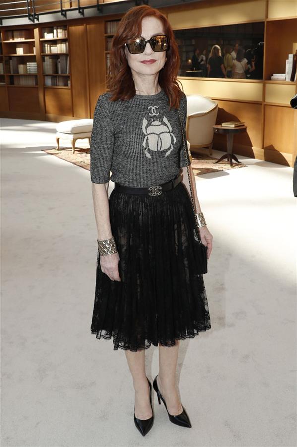 Paris Couture Haftası Sonbahar 2019'un Ön Sıradaki Konukları - Paris Couture Haftası Sonbahar 2019'un Ön Sıradaki Konukları