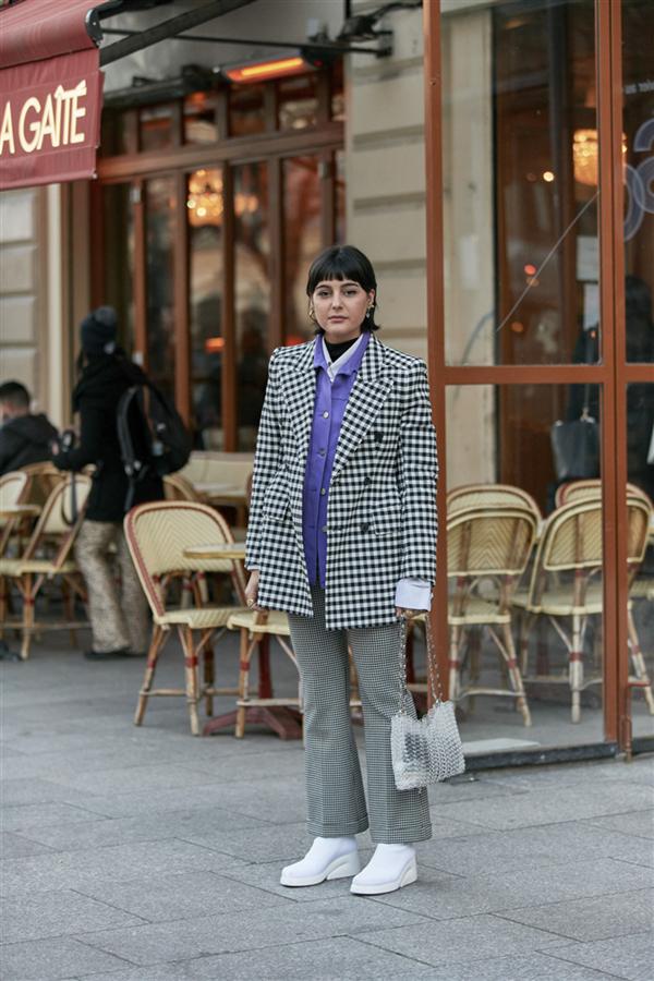 Paris Couture Haftası'ndan Hafızalara Kazınan Sokak Stilleri - Paris Couture Haftası'ndan Hafızalara Kazınan Sokak Stilleri