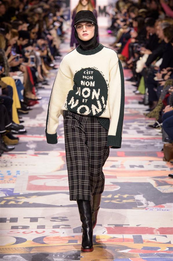 PFW: Christian Dior Sonbahar/Kış 2018-19
