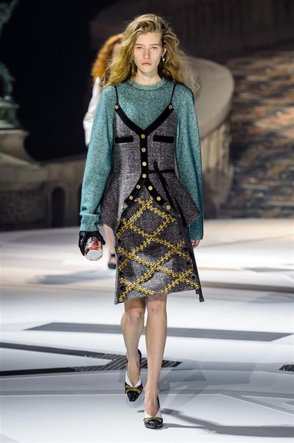 PFW: Louis Vuitton 2018-19 Sonbahar/Kış