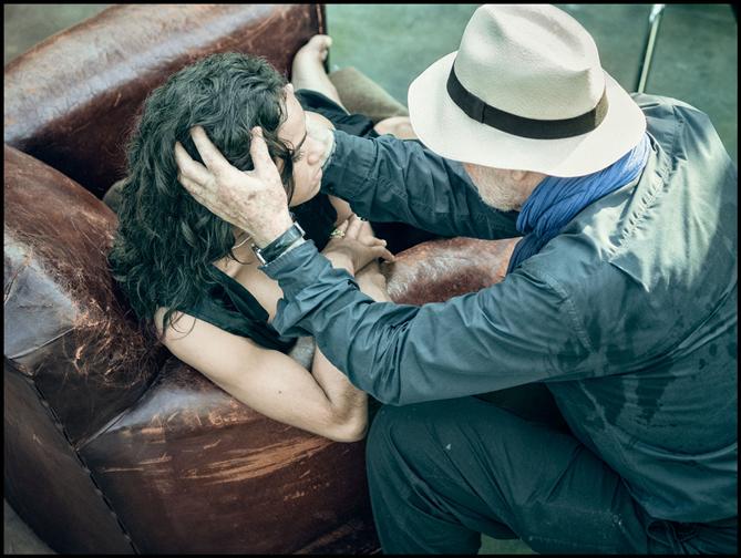 Pirelli 2019 Takvimi Kamera Arkası Görselleri
