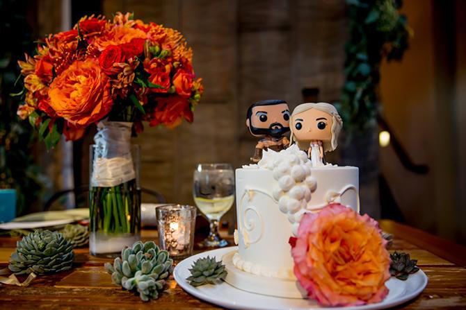 Popüler Kültüre Referans Veren 9 Düğün Pastası - Popüler Kültüre Referans Veren 9 Düğün Pastası