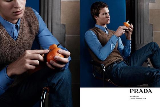 Prada Menswear 2015 Yaz Reklam Kampanyası - Prada Menswear 2015 Yaz Reklam Kampanyası
