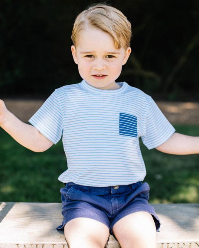 Prens George 3 Yaşında - Prens George 3 Yaşında