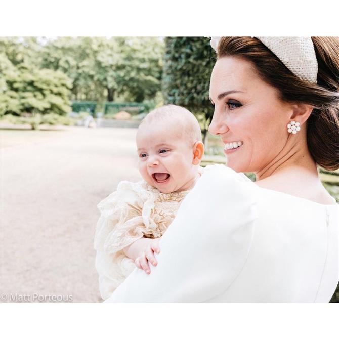Prens Louis'in Vaftiz Fotoğrafları