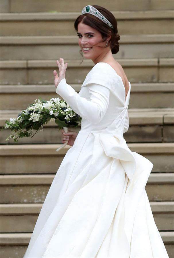 Prenses Eugenie'nin Zarif Gelinliği