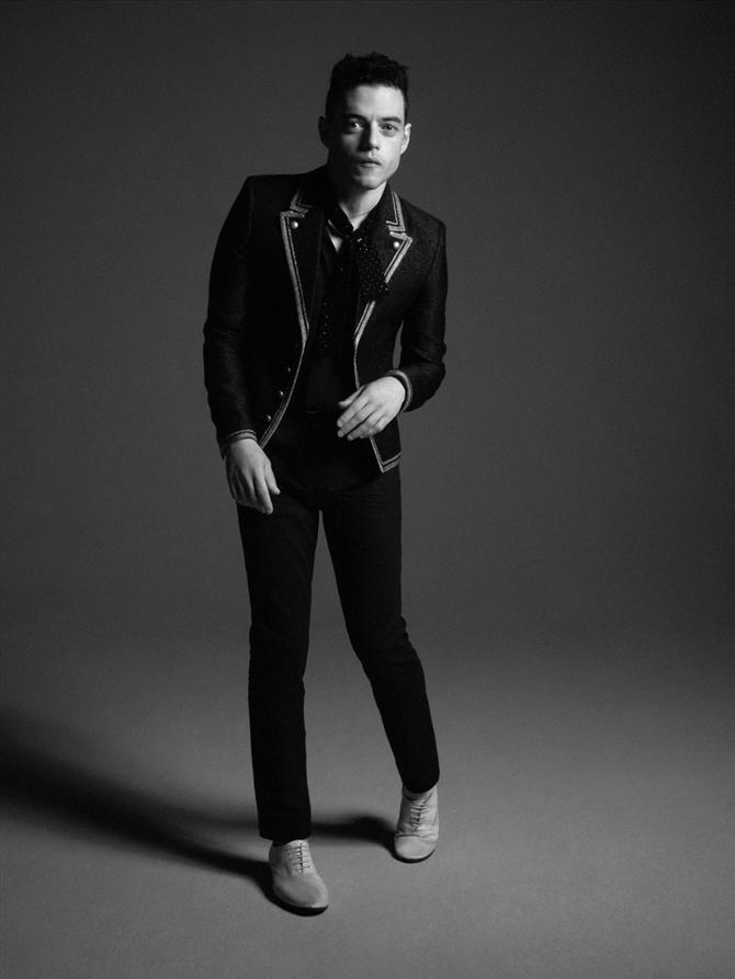 Rami Malek Saint Laurent'in Kampanya Yüzü Oldu! - Rami Malek Saint Laurent'in Kampanya Yüzü Oldu!