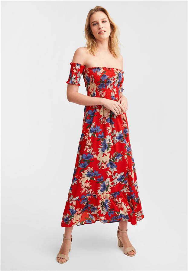 Rengarenk Çiçekli Elbiselerle Yaz Ruhunu Hissedin! - Rengarenk Çiçekli Elbiselerle Yaz Ruhunu Hissedin!