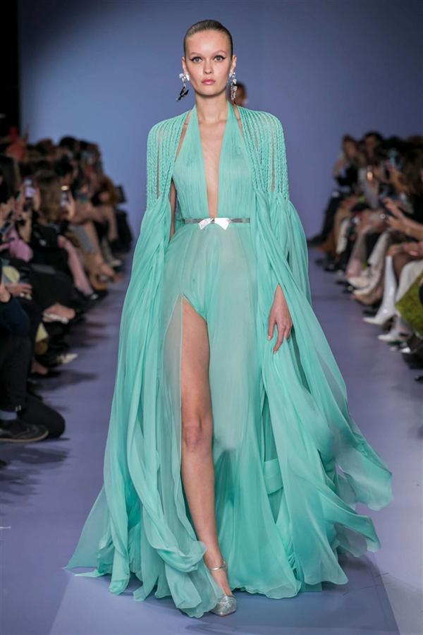 Renkli Georges Hobeika Haute Couture İlkbahar/Yaz 2020 Koleksiyonu - Renkli Georges Hobeika Haute Couture İlkbahar/Yaz 2020 Koleksiyonu
