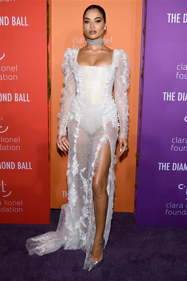 Shanina Shaik - Rihanna'nın Ev Sahipliğinde 2019 Diamond Ball Davetlileri Göz Kamaştırdı