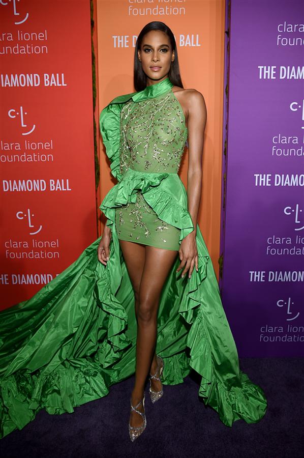 Cindy Bruna - Rihanna'nın Ev Sahipliğinde 2019 Diamond Ball Davetlileri Göz Kamaştırdı