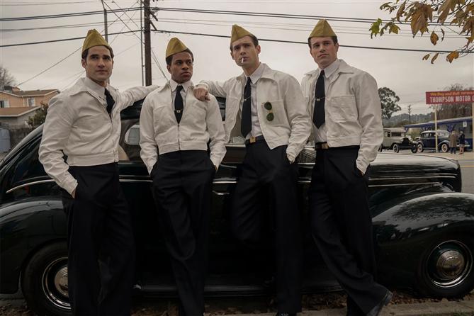 Ryan Murphy'nin Yeni Netflix Dizisi Holywood'dan İlk Görseller