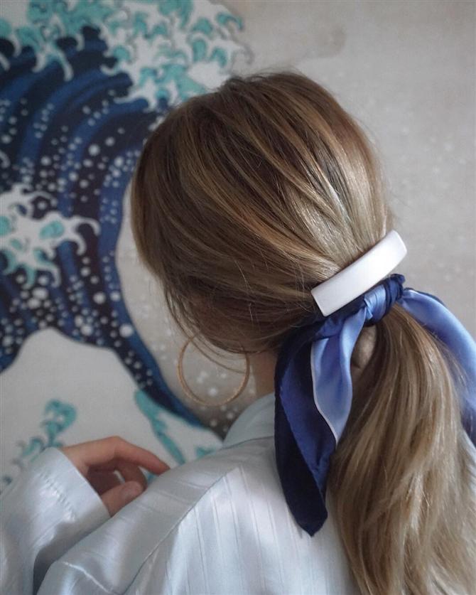 Saçlarda Fular Trendine Hazır Olun!