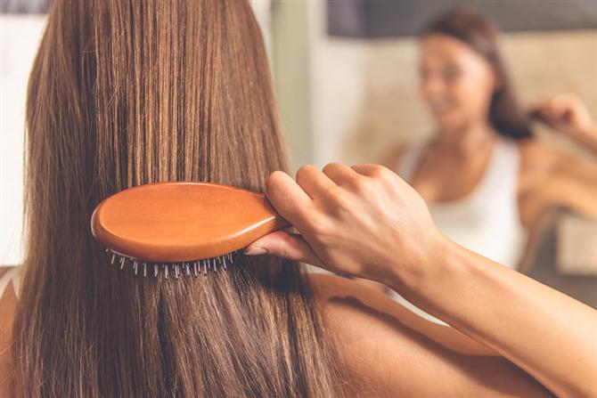 Saçlarınızı tarayın