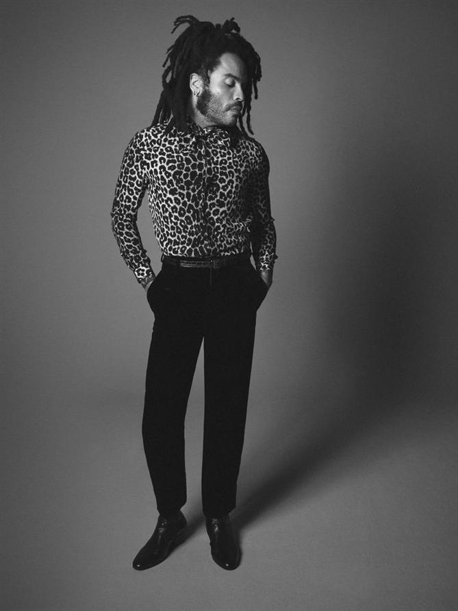 Saint Laurent'in Yeni Yüzü Lenny Kravitz Oldu!