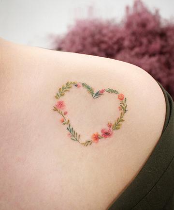 Sevgililer Günü İçin Romantik ve Sevimli Kalp Dövme Önerileri