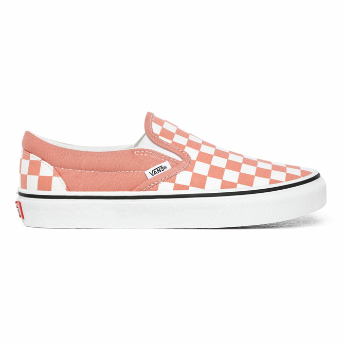 VANS CHECKERBOARD CLASSIC SLIP-ON AYAKKABI