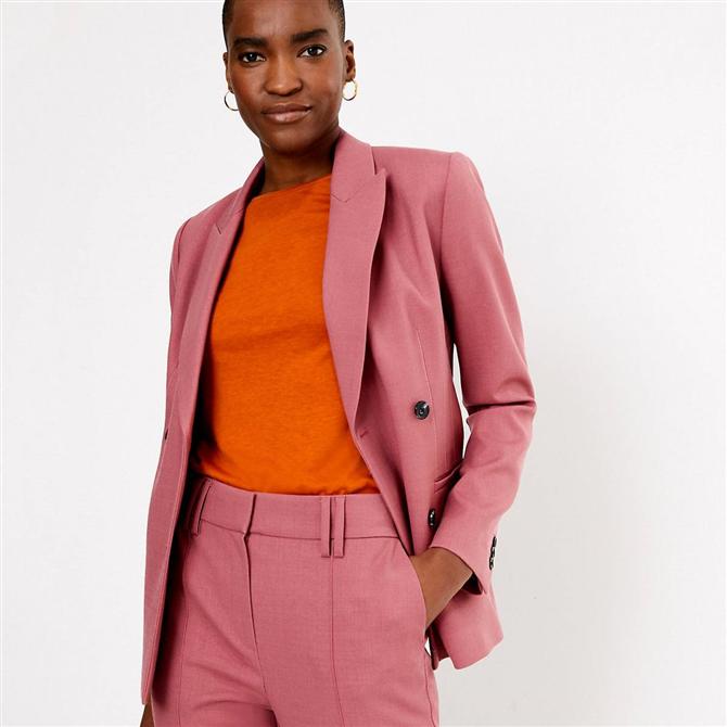 Sezonun Renkli Blazer Trendi İçin Kombin Önerileri - Sezonun Renkli Blazer Trendi İçin Kombin Önerileri